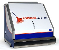 Fingerprint powder downdraft workstation