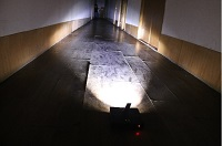 Floor and flat surface forensic light